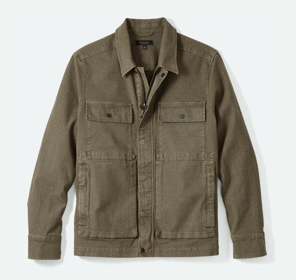 jaqueta de prova