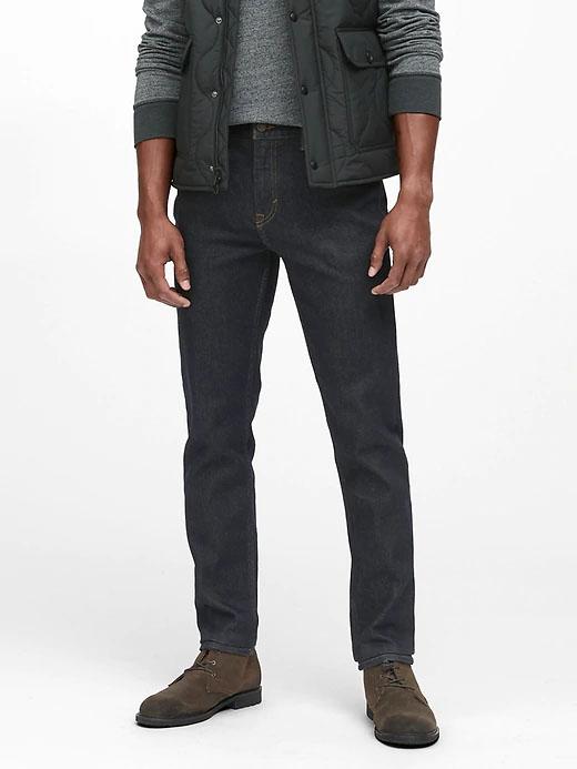 jeans slim da república da banana para homens