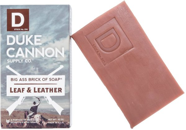duck cannon brick soap for men
