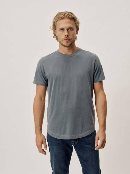 grey short sleeve shirt for men from buck mason