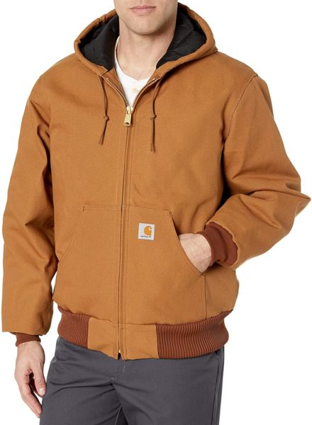 zip front carhartt jacket for men