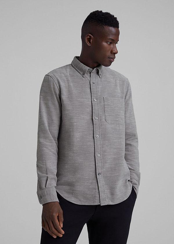 Slim Mélange Shirt from club monaco for men