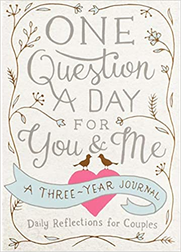daily reflections three year journal for couples