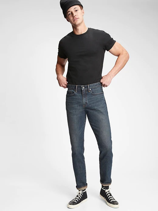 slim fit jeans with gap flex from gap for men