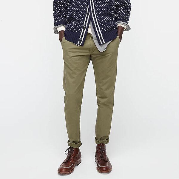 484 Slim-fit pant in Broken-in chino from jcrew for men