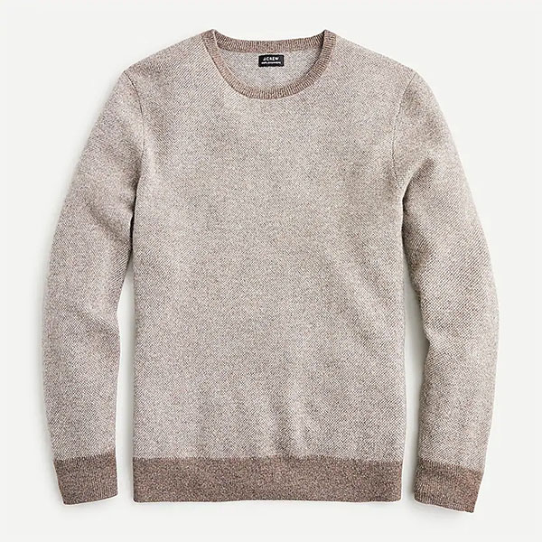 cashmere crewneck sweater for men from jcrew