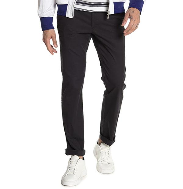 cole haan flat front pants for men