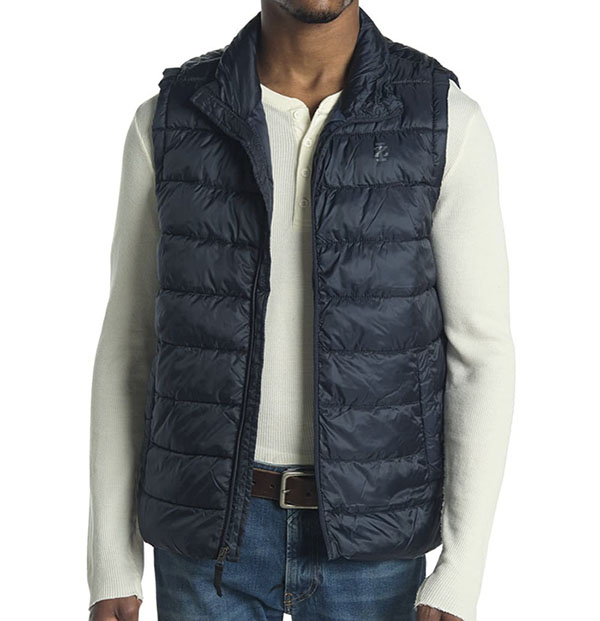 quilted puffer vest for men
