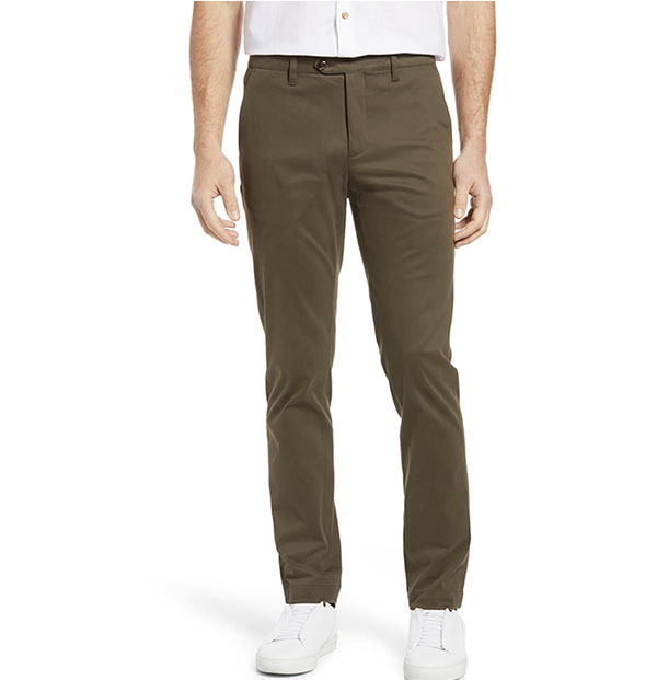 slim fit pants for men from ted baker london