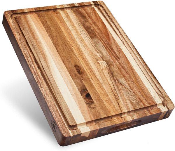 acacia wood cutting board for kitchen