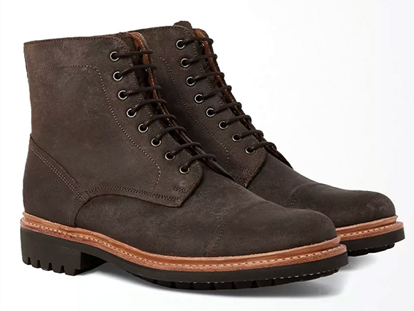 grenson suede boots