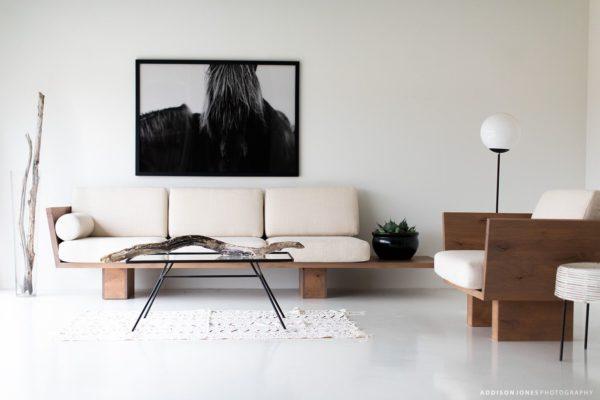 modern minimalist style living room decor