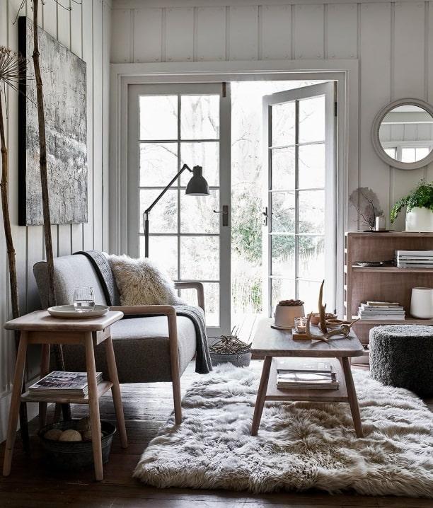 nordic style interior decor living room