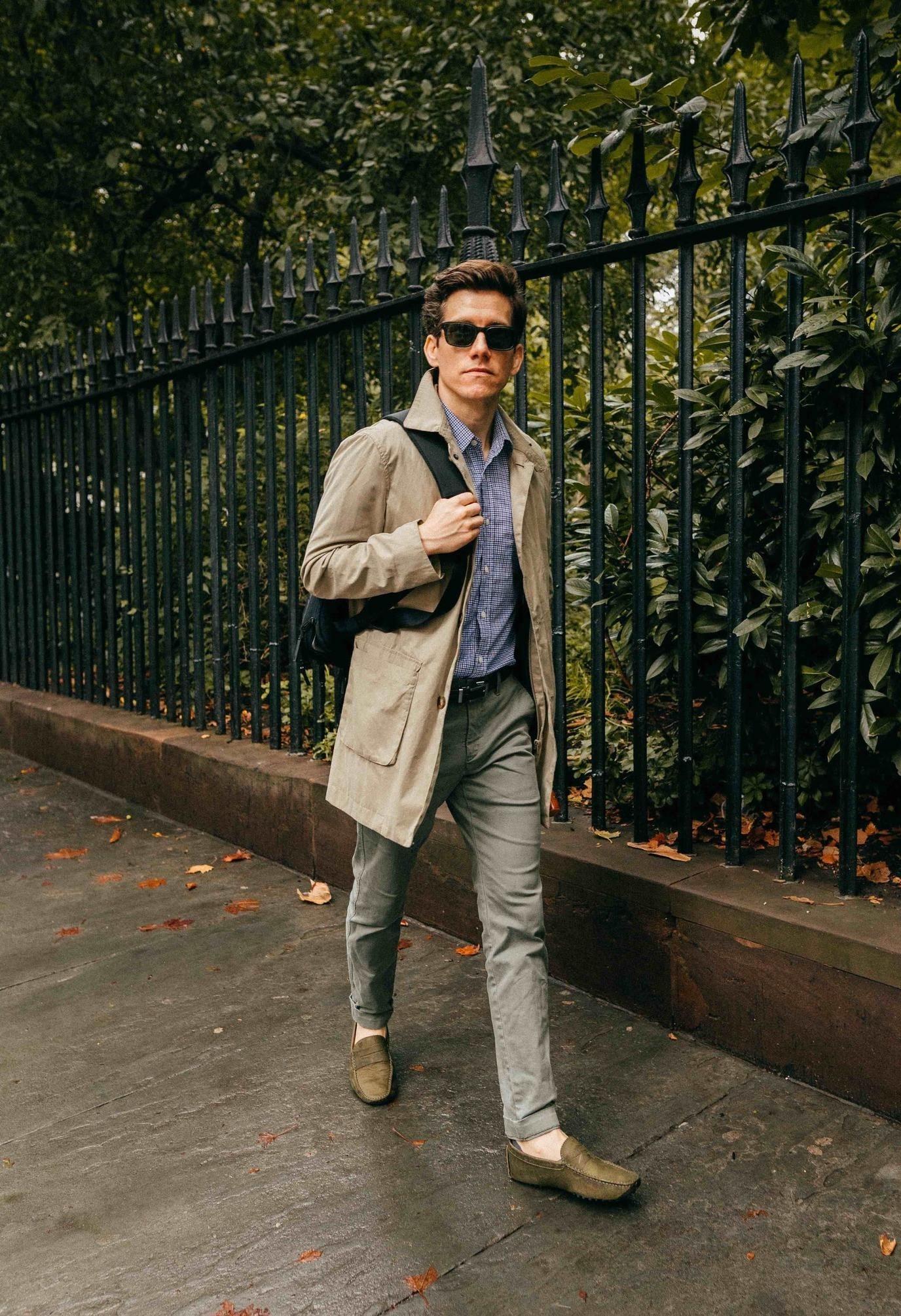 the modest man mac jacket
