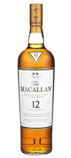 macallan 12 bottle