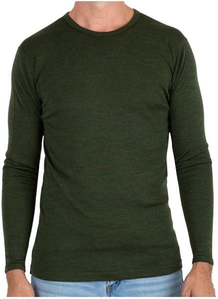 merino wool lightweight base layer undershirt