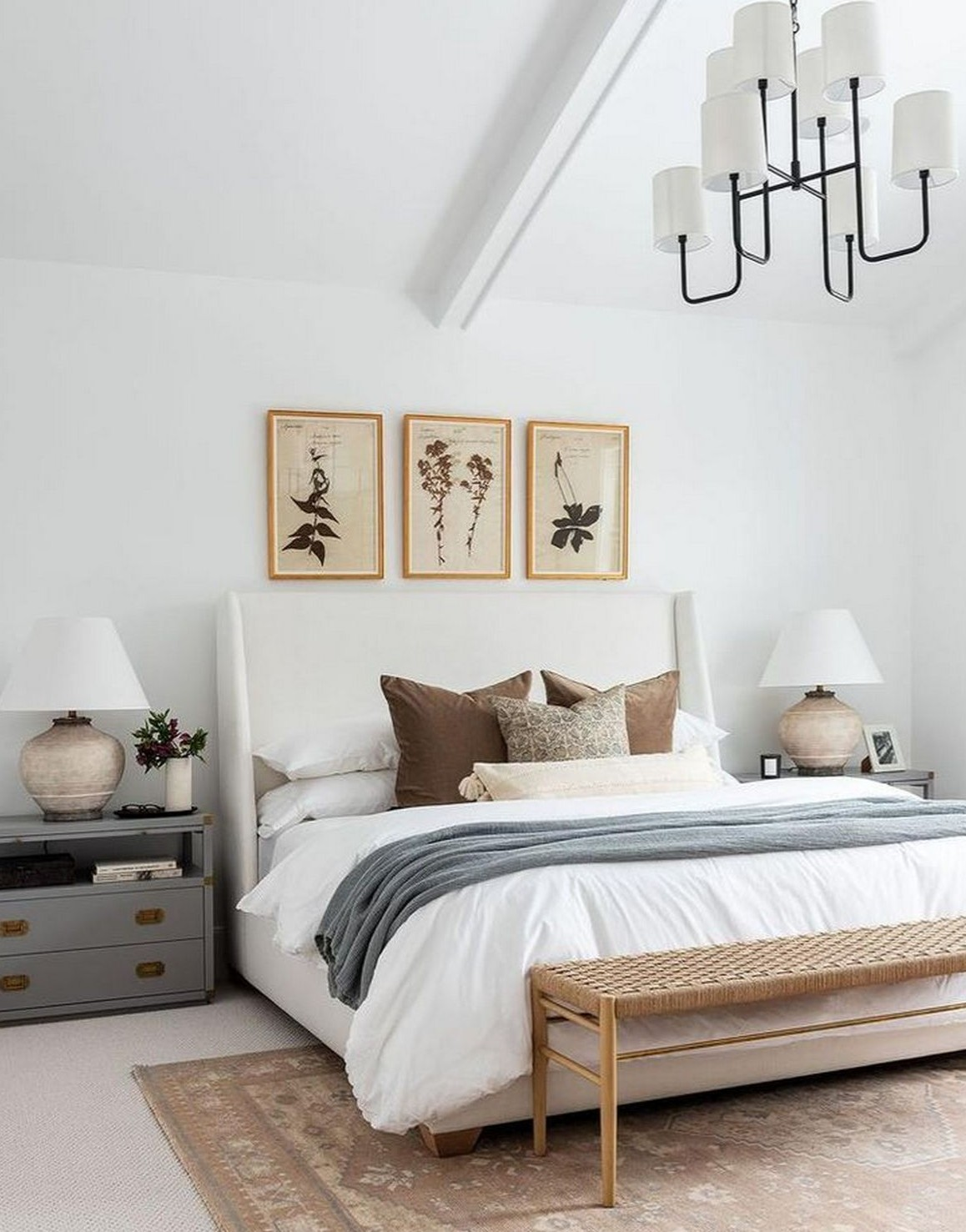neutral style theme bedroom