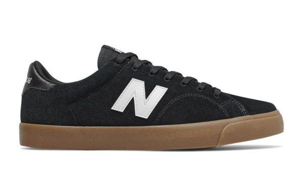 black nike brand new balance gum sole sneaker shoe