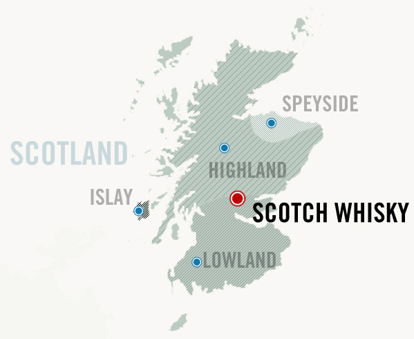 scotland map of scotch regions