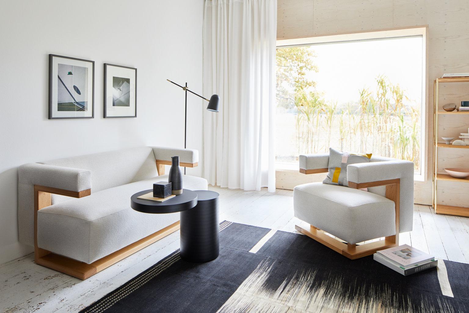 german bauhaus style interior decor living room