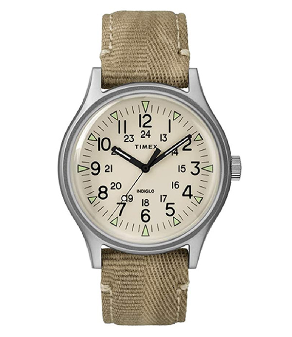 timex khaki watch