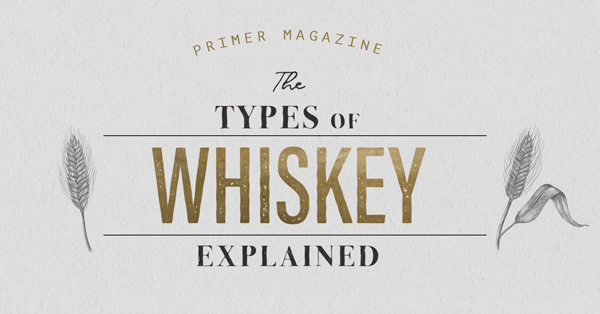 Types of Whiskey Explained: Everything You Need to Know to Get Started