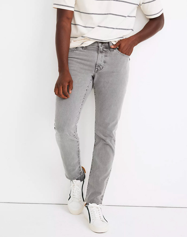 gray madewell jeans