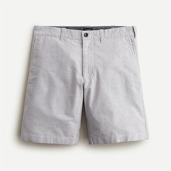 gray nine inch shorts