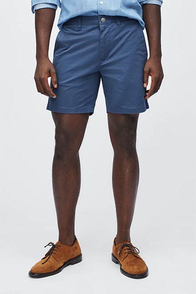 bonobos blue shorts for men