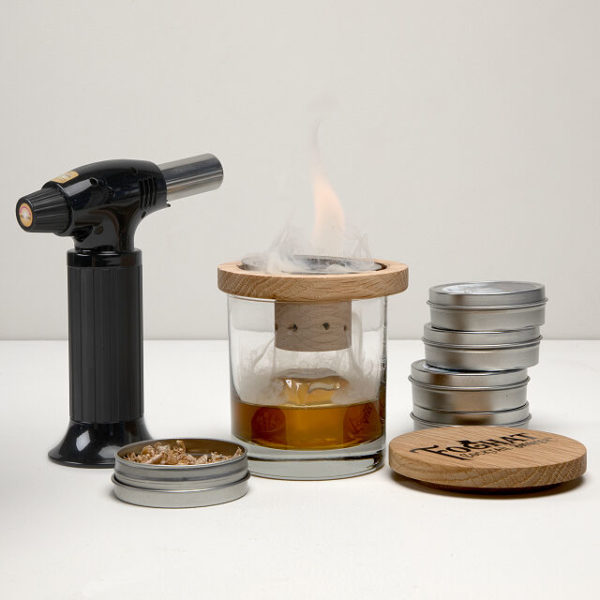 glass topper cocktail smoker