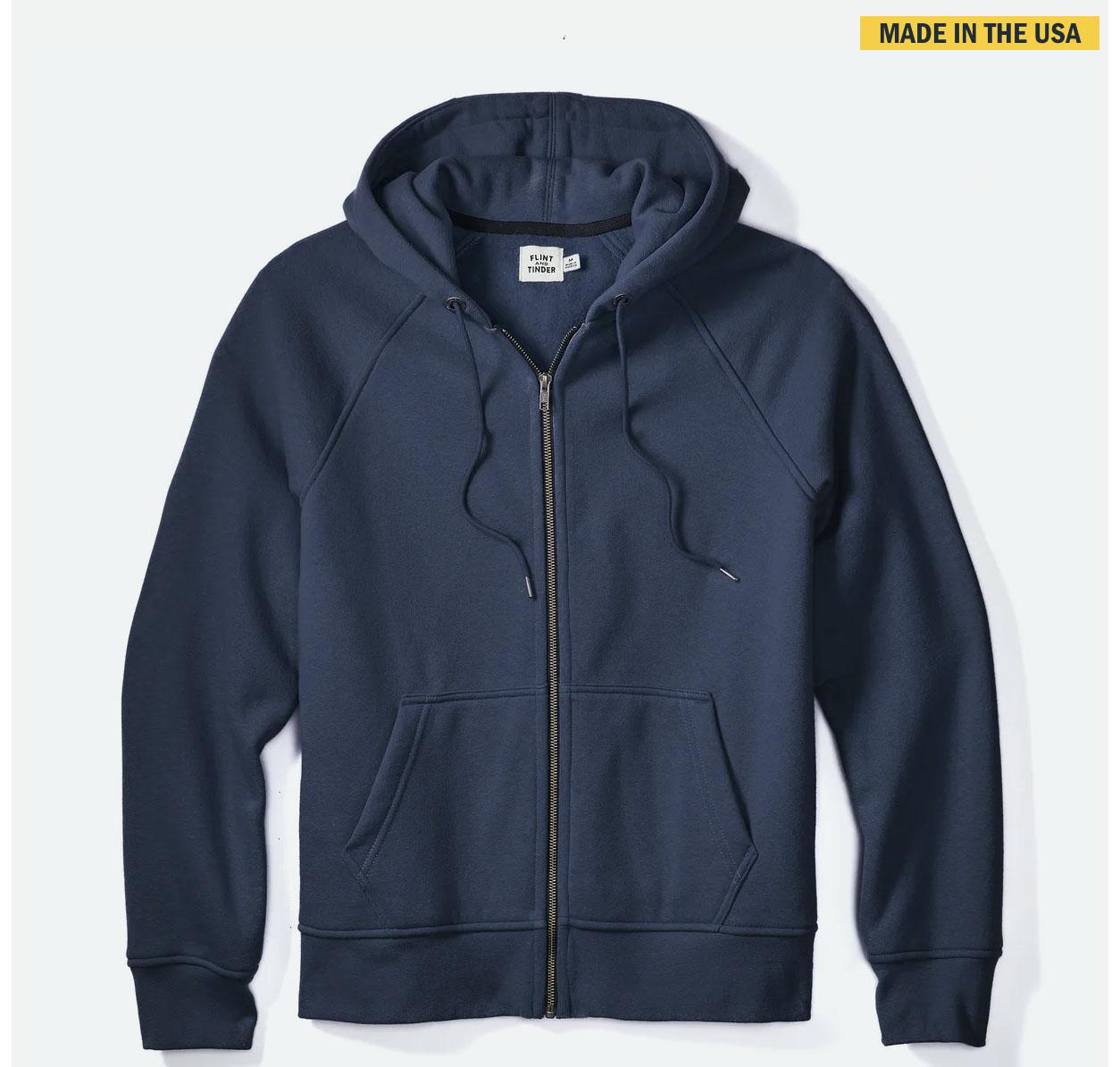 zip front hoodie sweatshirt for men huckberry