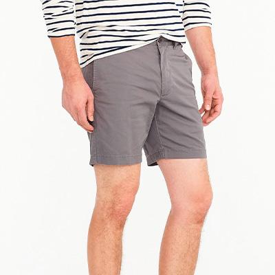 grey shorts for men