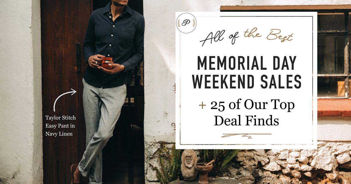 memorial day weekend sales + 25 deal picks