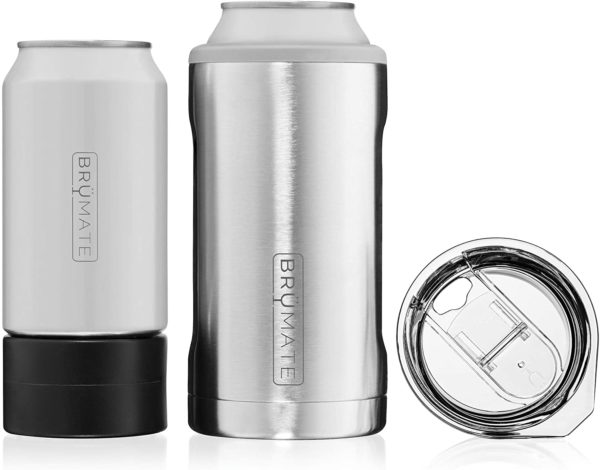stainless steel insulated can cooler