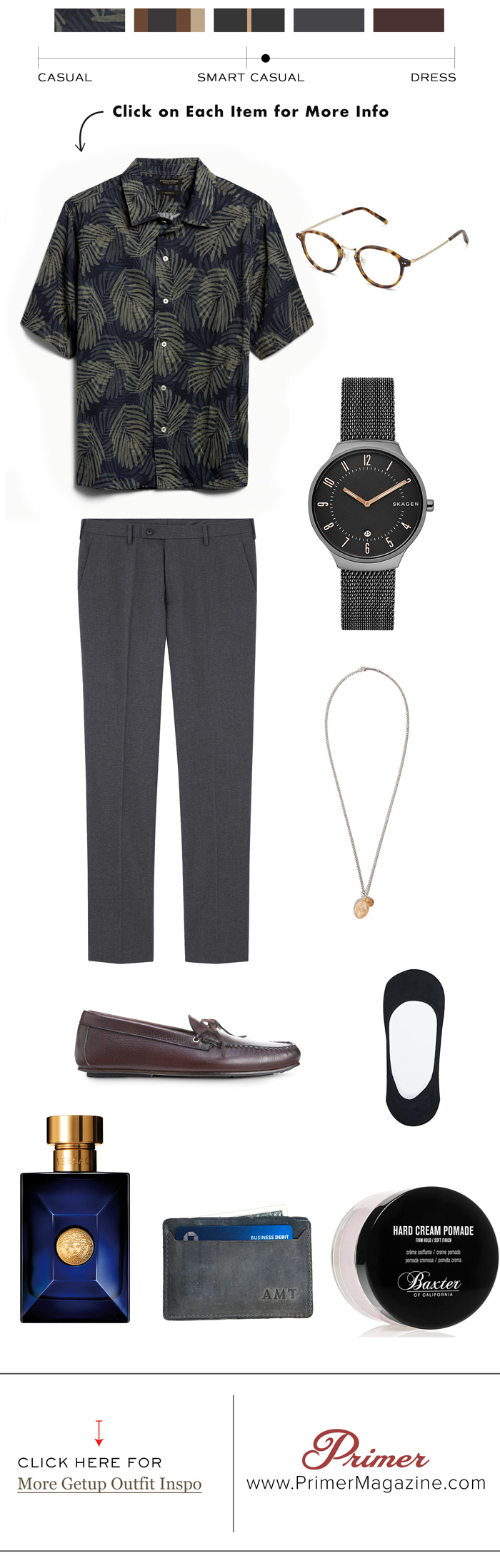 summer evening getup outfit from primer magazine