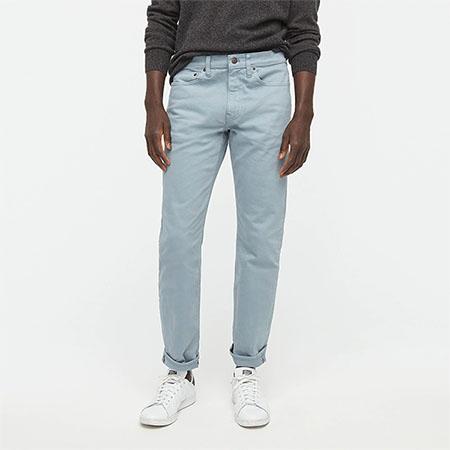 light denim blue pants