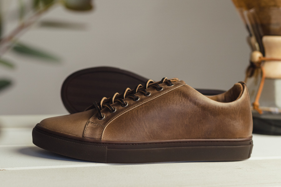 Thursday Boot Company Natural Chromexcel Sneaker