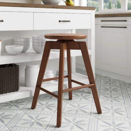 wood kitchen bar stool