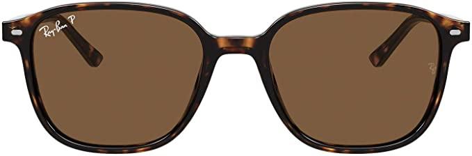 ray ban brown square sunglasses