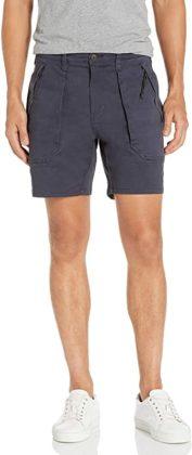 dark grey tactical shorts for men
