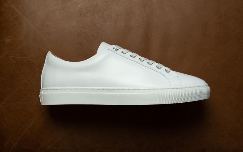 Thursday white leather sneaker