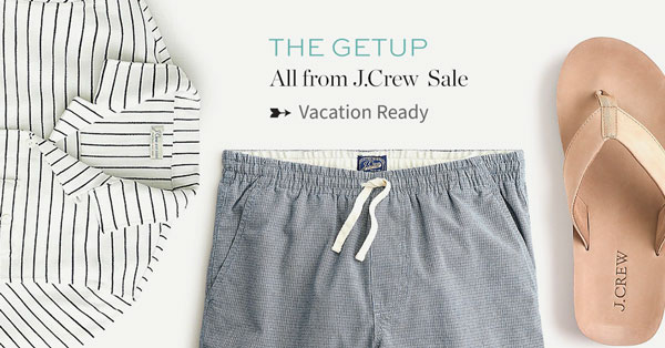 The Getup: All from J.Crew Sale – Vacation Ready