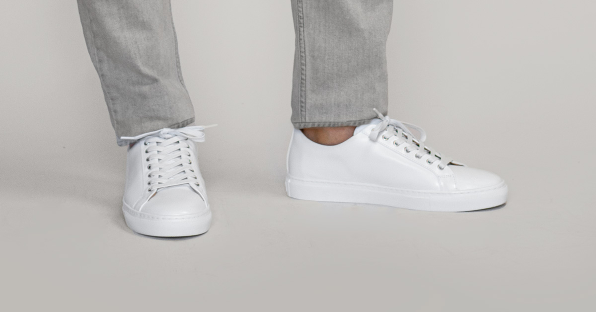 The One Essential for Keeping Dressier Sneakers Looking Sharp