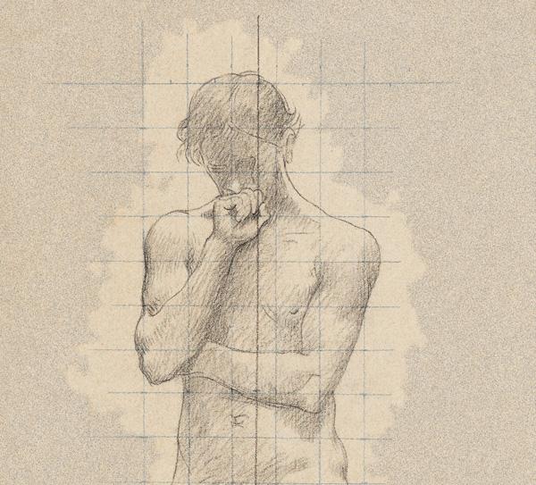 anxious man