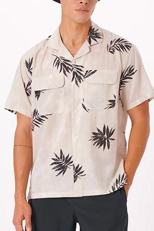 abercrombie camp collar shirt