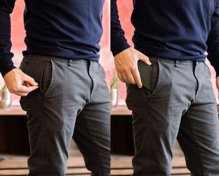 Dockers Ultimate Chino zipper pocket