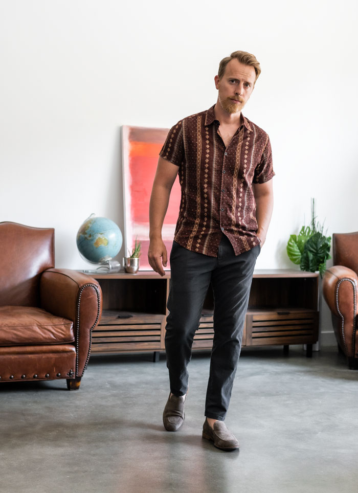 dockers ultimate chino with short sleeve summer shirt