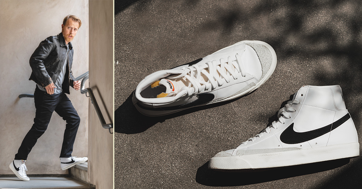 This Classic Nike High Top is the Sneaker We're Wearing This Fall
