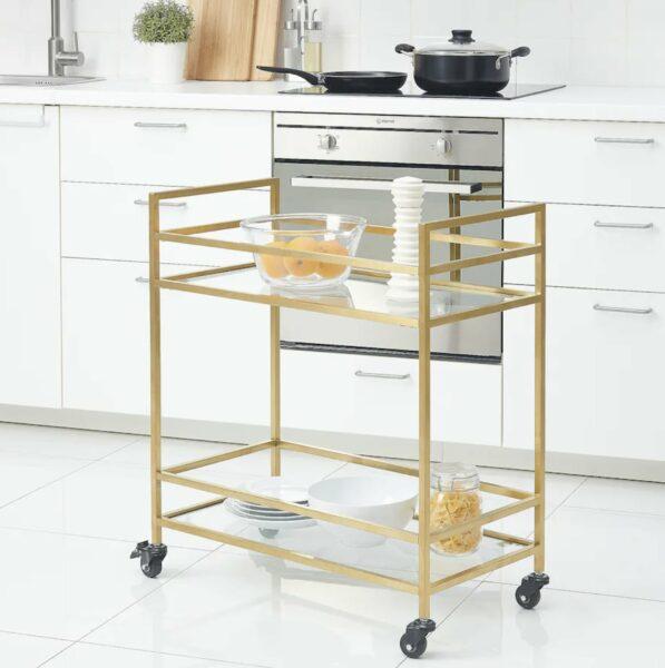 bronze utility cart