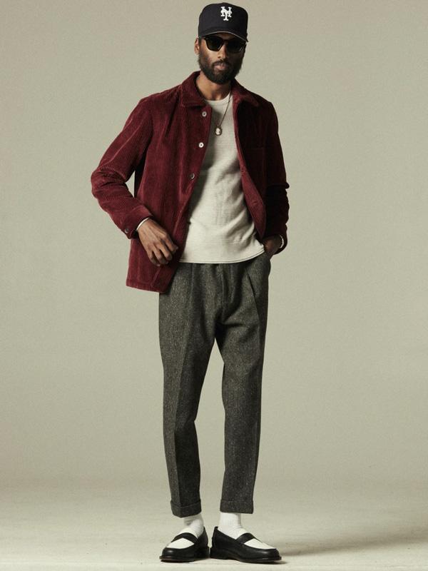 Man wearing Blackstock & Weber loafers